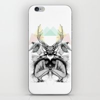 wild things iPhone & iPod Skins featuring Wild Things by MadeByLen