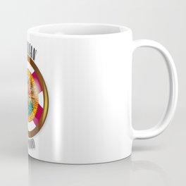 Florida Proud Flag Button Coffee Mug