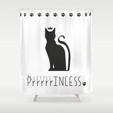 LITTLE PrrrrrINCESS Shower Curtain