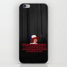 Thranger Thingth iPhone & iPod Skin
