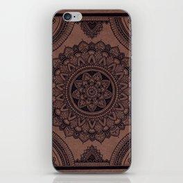 Mandala on Masonite I iPhone Skin