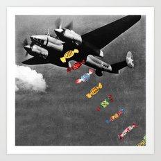 Candy Bomber Art Print