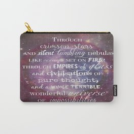 Dr Who Quotes Carry-All Pouch