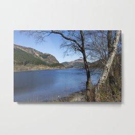 Loch Lubnaig Metal Print