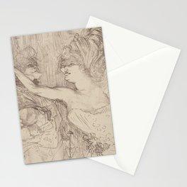 """Henri de Toulouse-Lautrec """"Guy et Mealy, dans Paris qui Marche"""" Stationery Cards"""