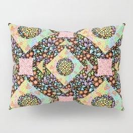 Boho Chic Patchwork Pillow Sham