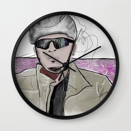 Candy Panties Wall Clock
