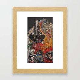 Maria del Carne Framed Art Print