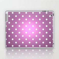 Polka Party Radiant Orchid Laptop & iPad Skin