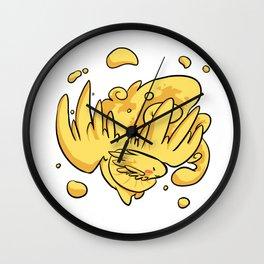 SH - Speckles birb Wall Clock