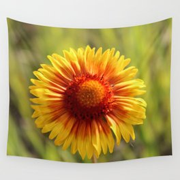 Indian Blanket Flower Wall Tapestry