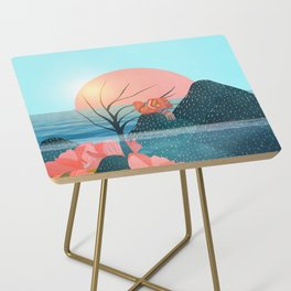 Botanical under the sea 1 Side Table