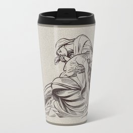 Pieta, St-Paul, London Travel Mug