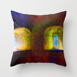 The Room In My Mind Where My Memories Are Stored Throw Pillow