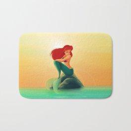 Beauty Mermaid Bath Mat
