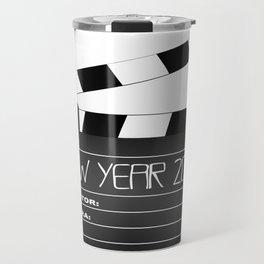 New Year 2017 Clapperboard Travel Mug