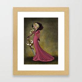 Queen Aurora Framed Art Print