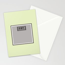 Scales don't lie Stationery Cards