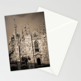 Duomo of Milan, Cathedral in the center of Milan Stationery Cards