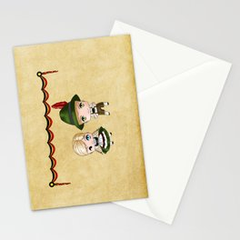 German Chibis Stationery Cards