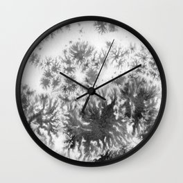 Grey grows and spreading Wall Clock