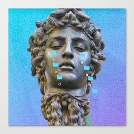 Sad Gurl Aesthetics Canvas Print