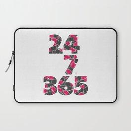 24-7/365 (Lipstick) Laptop Sleeve