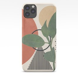 Nature Geometry III iPhone Case