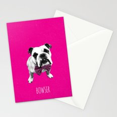 Pink Bowser Stationery Cards