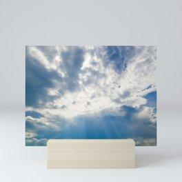 Clouday Mini Art Print