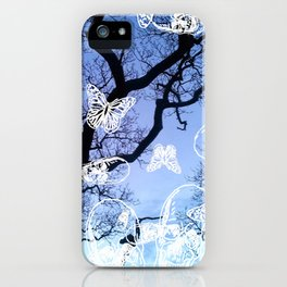 Llansteffan woodland iPhone Case