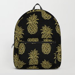 Golden Pineapples Backpack