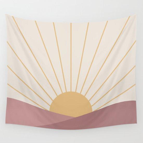 Morning Light - Pink by midcenturymodern