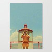 moonrise kingdom Canvas Prints featuring MOONRISE KINGDOM by VAGABOND