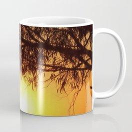 Sunset Silhouettes   Beautiful Nature Coffee Mug