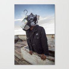 Doernbecher 5 Angler Fish Sneakerhead Gas Mask Canvas Print