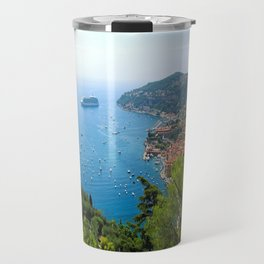The View Over Villefranche Sur Mer Travel Mug