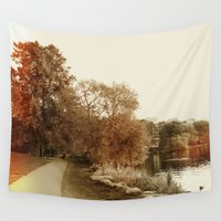 stockholm Wall Tapestries featuring Stockholm 03 by Viviana Gonzalez