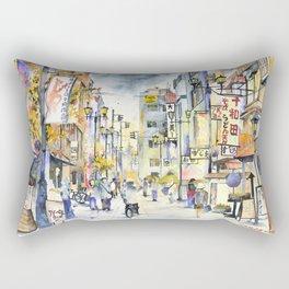 Asakusa street in Japan Rectangular Pillow