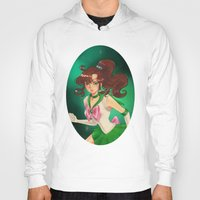 sailor jupiter Hoodies featuring Sailor jupiter by Tae V
