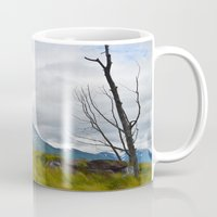 alaska Mugs featuring Alaska by Carolina Karoleva
