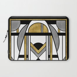 Up and Away - Art Deco Spaceman Laptop Sleeve
