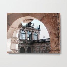Dresdner Zwinger ll Metal Print