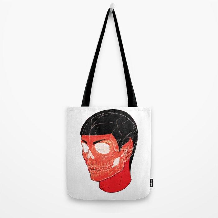 Red Vulcan Tote Bag