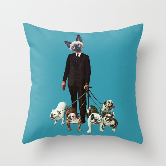 The Master Throw Pillow