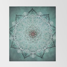 Mystic Mandala Throw Blanket