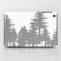 forrest iPad Cases featuring Forrest by Dan Parker