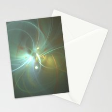 Holiday Glow Fractal Stationery Cards