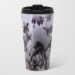 Snow Blossoms Abound Travel Mug