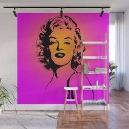 Marilyn Pink Wall Mural